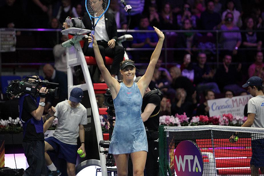 Матч 1-го круга женского профессионального турнира SPb Ladies Trophy 2019  между Марией Шараповой (WTA, 30) и её бывшей соотечественницей Дарьей  Гавриловой ... 67b75742120